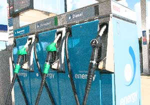 picture of petrol pumps